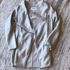 Cowl zip coat